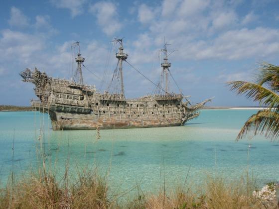 Jack Sparrow's Black Pearl at Disney's Castaway Cay
