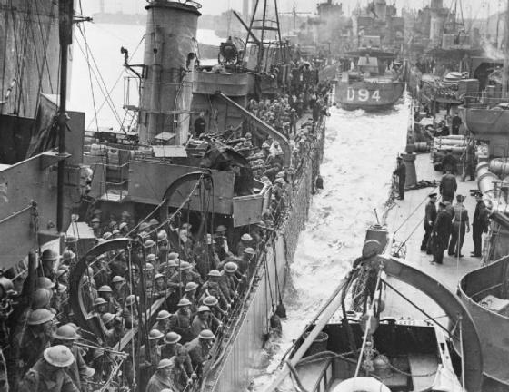 The British Army in the UK- Evacuation From Dunkirk, May-June