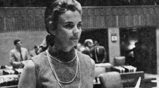 Sandra Day O'Connor was the first female majority leader in Arizona state history